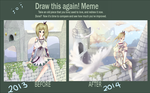 Draw this again 2013-2014 by DearKyoume