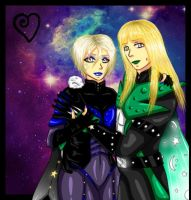 { Ashly and Victor Von Lung } by PrincessNetherrealm