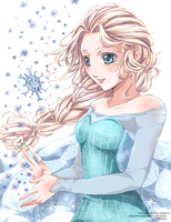 Elsa - Frozen by Reikyourin