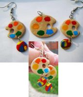 Palette Jewelry Set by SarahRose