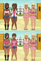 Bimbos Vs. Urban Girls V2 01 by Firingwall