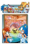 Sonic the Hedgehog #260 Page 01 by Gabriel-Cassata