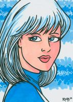 Sketchcard Ice by RichBernatovech