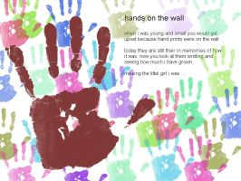 hands on the wall by sisila1