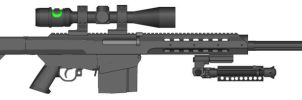 Weapon Request: Barrett M82 for Kweonza by Super6-4