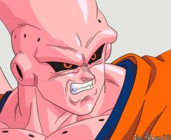 Super Buu Gohan Absorved by isa-pinheiro