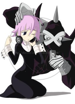 Soul Eater: Crona and Ragnorok by ukalayla