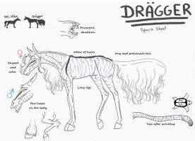Dragger - Specie sheet by Aspi-Galou