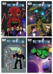 Doctor Who - Red Dwarf Comic Book 1-4 by mikedaws