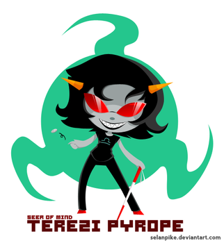 Simple Terezi by SelanPike