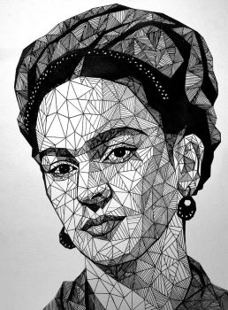 Frida Kahlo by LazzzyV