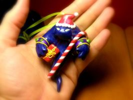 WoW Inspired Voidwalker Christmas Ornament by Euphyley