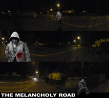 Old Graphic Design: THE MELANCHOLY ROAD by ZEVLEVIROGAN