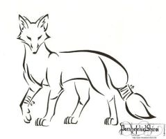 Limping fox by PanHesekielShiroi