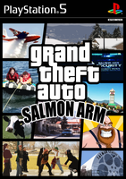 Grand Theft Auto: Salmon Arm by Agallochum