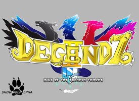 Legendz Fanfiction Logo by SnowWolfAlpha