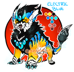 .:DRAGOMYTH AUCTION CLOSED: SPECIAL ElectricBlue:. by Mayasacha