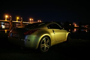 Nissan 350z in night IV by ShadowPhotography