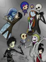 Tim Burton Suite ~coloured by WaterLily-Gems