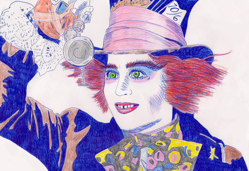 The Mad Hatter. by ladyjart