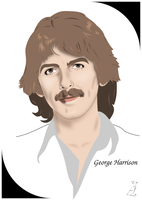 George Harrison by FoolEcho