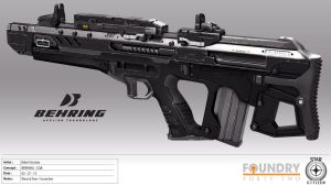 Behring CQB Concept by DrZoidberg96