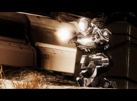 Halo 4: Operation Rambo by purpledragon104