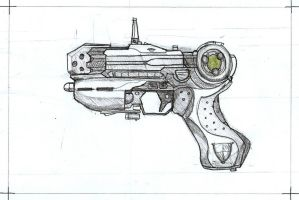 Plasma pistol by Rievil