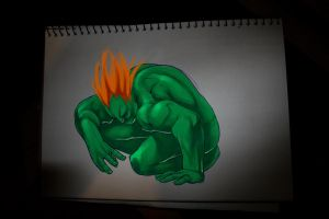Blanka Sketch by Deputee