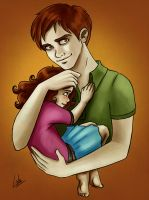 Twilight: Edward and Nessie by Loleia