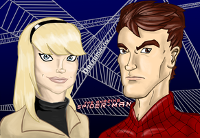 Gwen Stacy and Peter Parker by Dreed-06