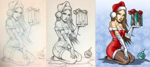 Xmas 2013 Process by wayner8088