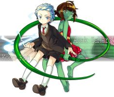 Tower of god : Koon ran and anack zahard by A-RAM
