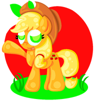 REQUEST - Applejack by FiddleLid