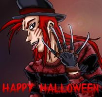 Michelo Chariot as Freddy by kaitlynrager