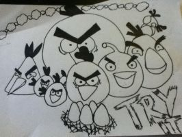angry birds by crush401