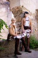 Erwin and Levi by endless--rain