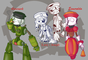 More Locomatons by KD476