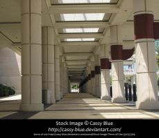 Futuristic Columns Stock by Cassy-Blue