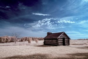 Valley Forge Cabin 2 by swiftmoonphoto