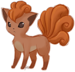 Vulpix by Raidiance