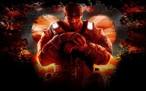 Gears of war3 Marcus Wallpaper by IReckLess