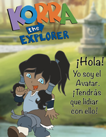 Korra The Explorer by rexsowards