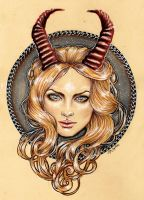 Capricorn by MsSophieArt