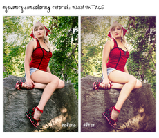 Warm Vintage Coloring Tutorial by OftheCrucified