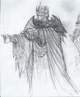 Morgoth sketch by BrokenMachine86