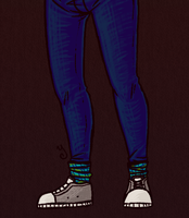 here are some legs whoa by SomeoneWhoDoodles