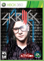 Skrillex Game Box Art by HeroMAU5