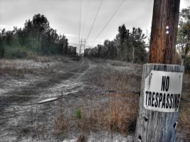 No Tresspassing by RyoThorn