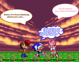 Sonic's Greatest Challenge... by TheTodStar